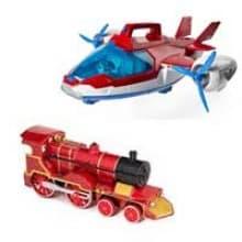 Trenulețe, avioane, elicoptere, nave