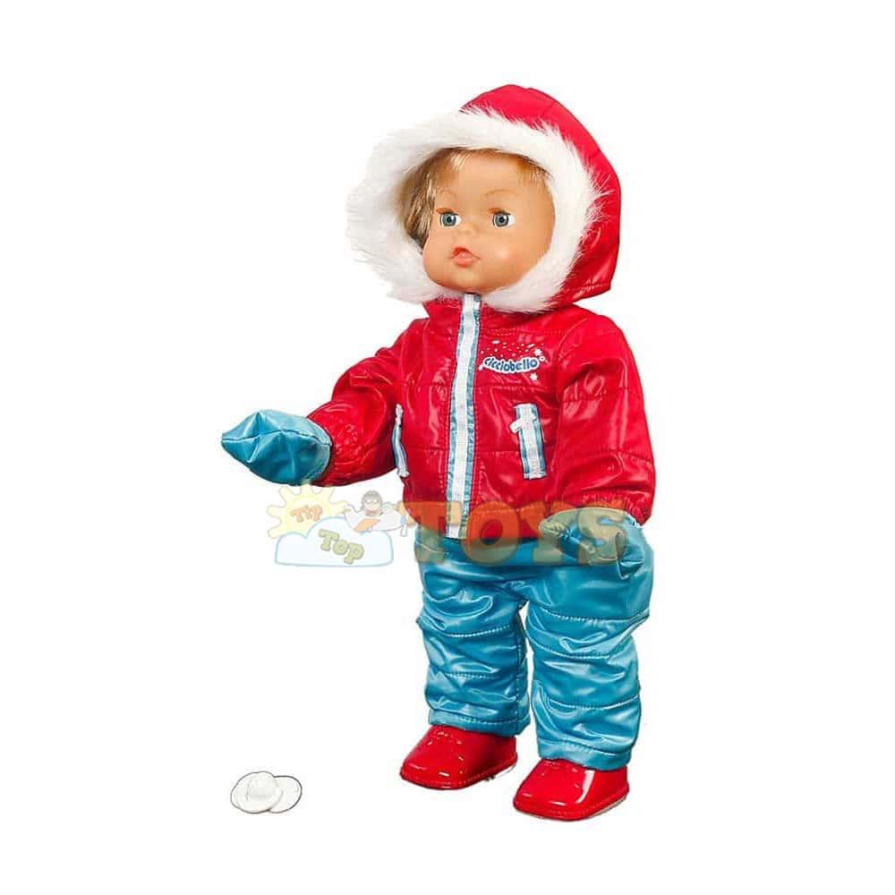 Cicciobello Păpușă de iarnă în zăpadă Giochi Preziosi