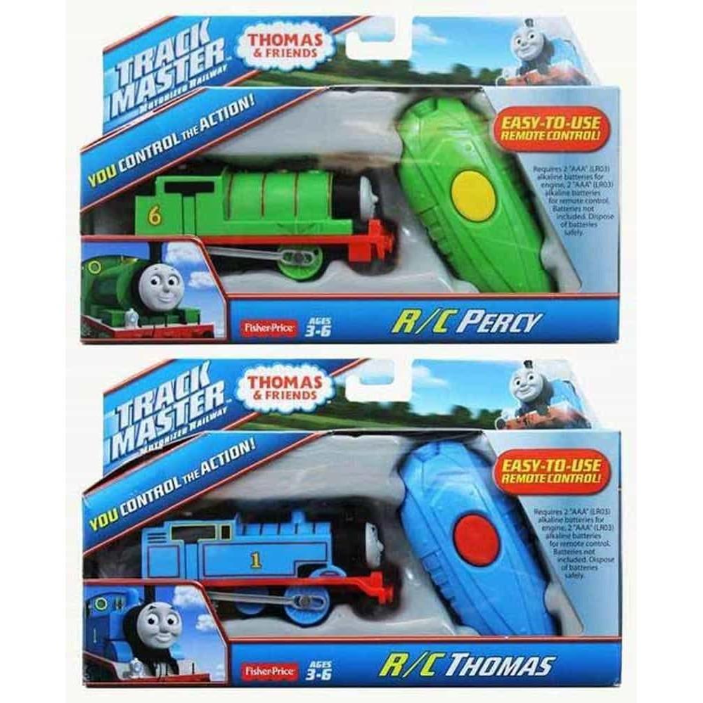 Locomotiva Thomas cu telecomandă Thomas CJX82 - Percy CJX83