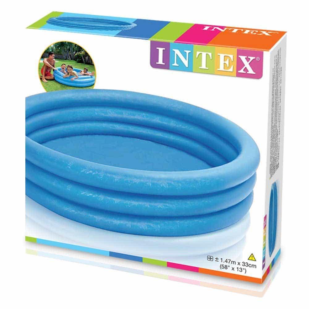 Piscină gonflabilă INTEX 58426NP Blue Cristal 3 inele 147cm