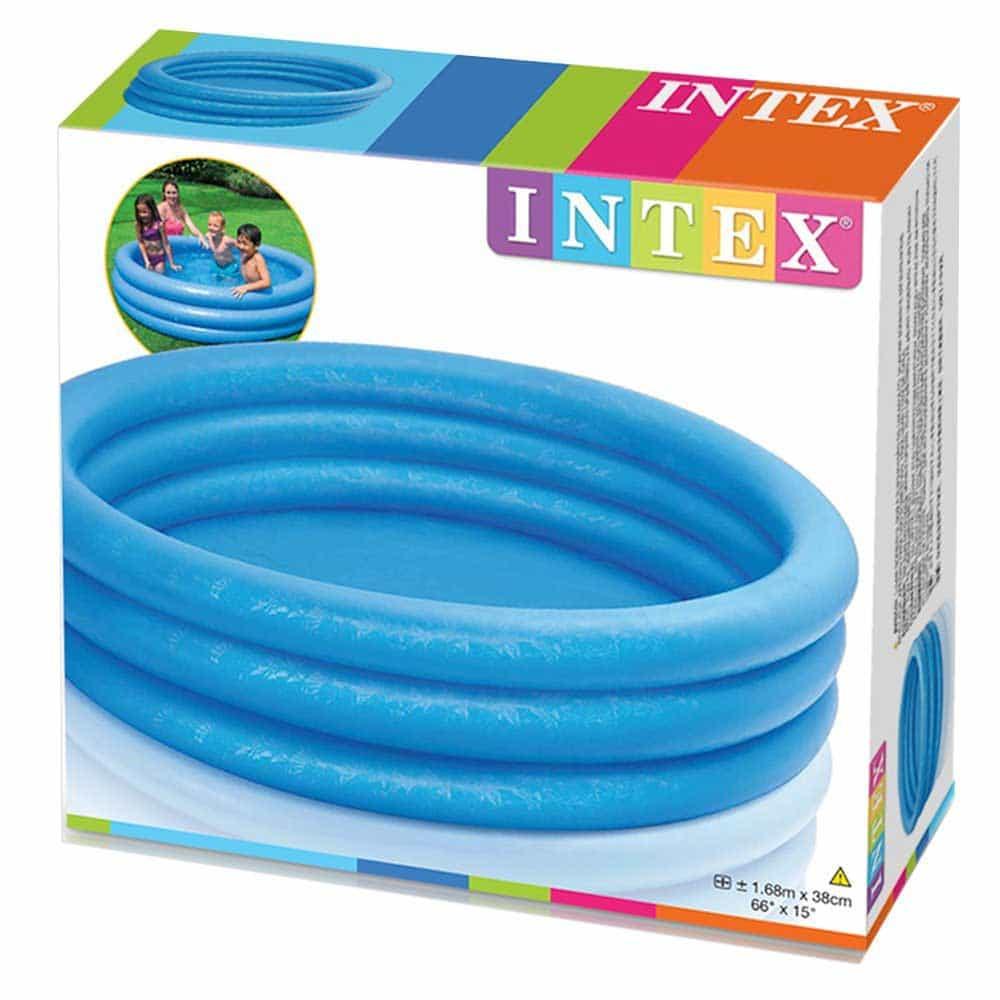 Piscină gonflabilă INTEX 58446 Blue Cristal 3 inele 168cm