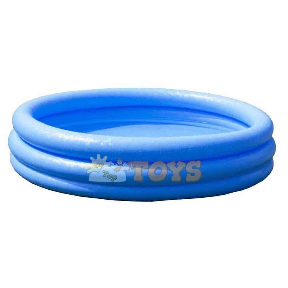 Piscină gonflabilă POOL Now Albastră 3 inele 114cm