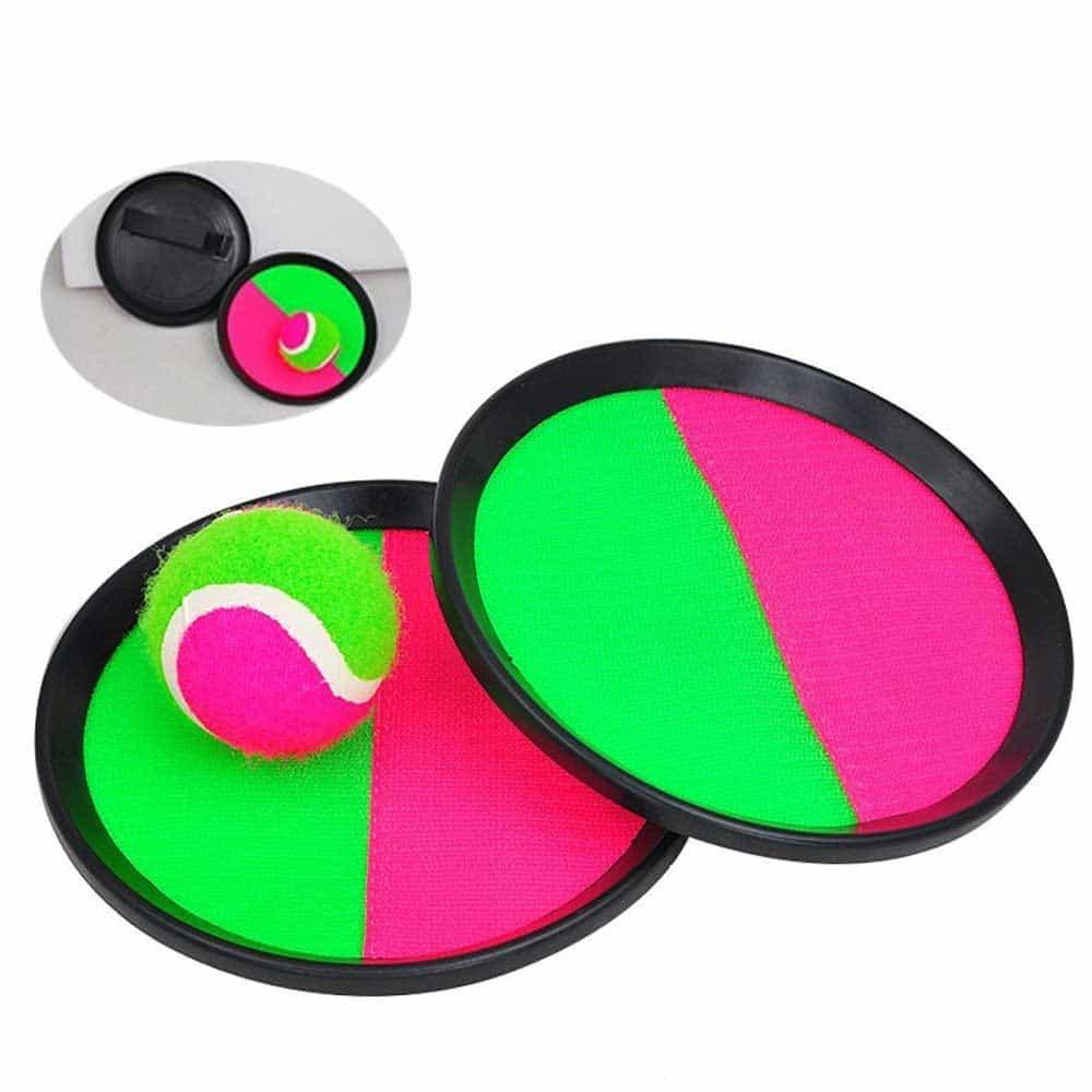 Set palete cu scai și minge tenis ScratchBall 20cm