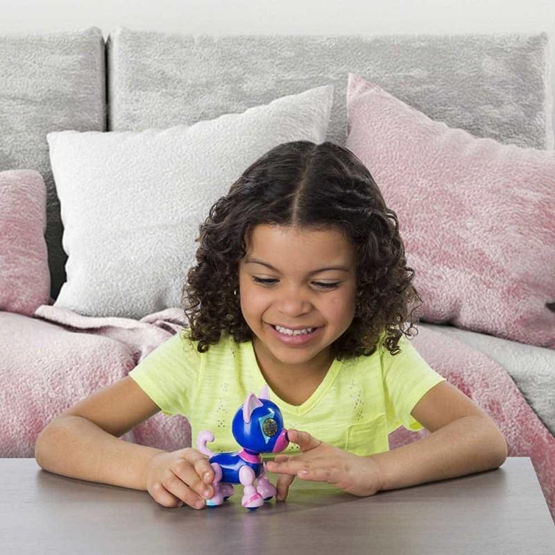 Zoomer Zupps cățeluș interactiv cu sunete și lumini Tiny Pups