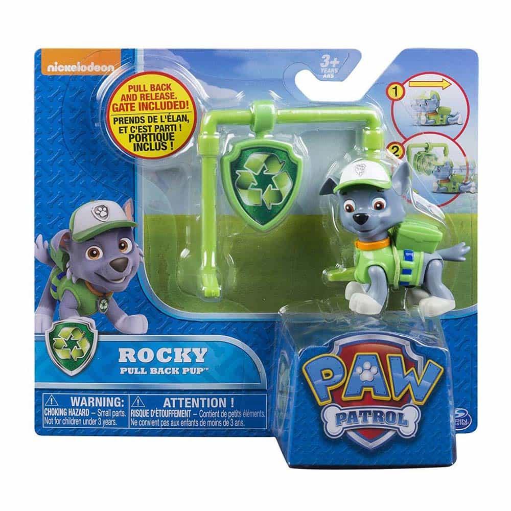 PAW Patrol Figurine superbe Marshall Sky si Rocky
