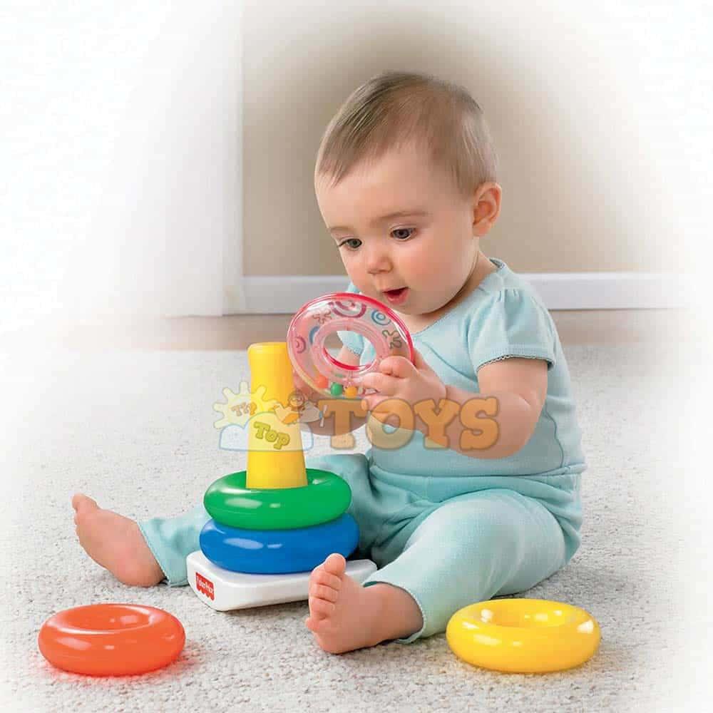 Fisher-Price Piramida Rock-A-Stack jucărie bebeluși 71050