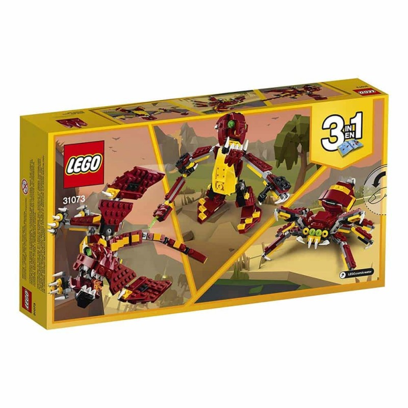 LEGO® Creator Creaturi mitologice 31073