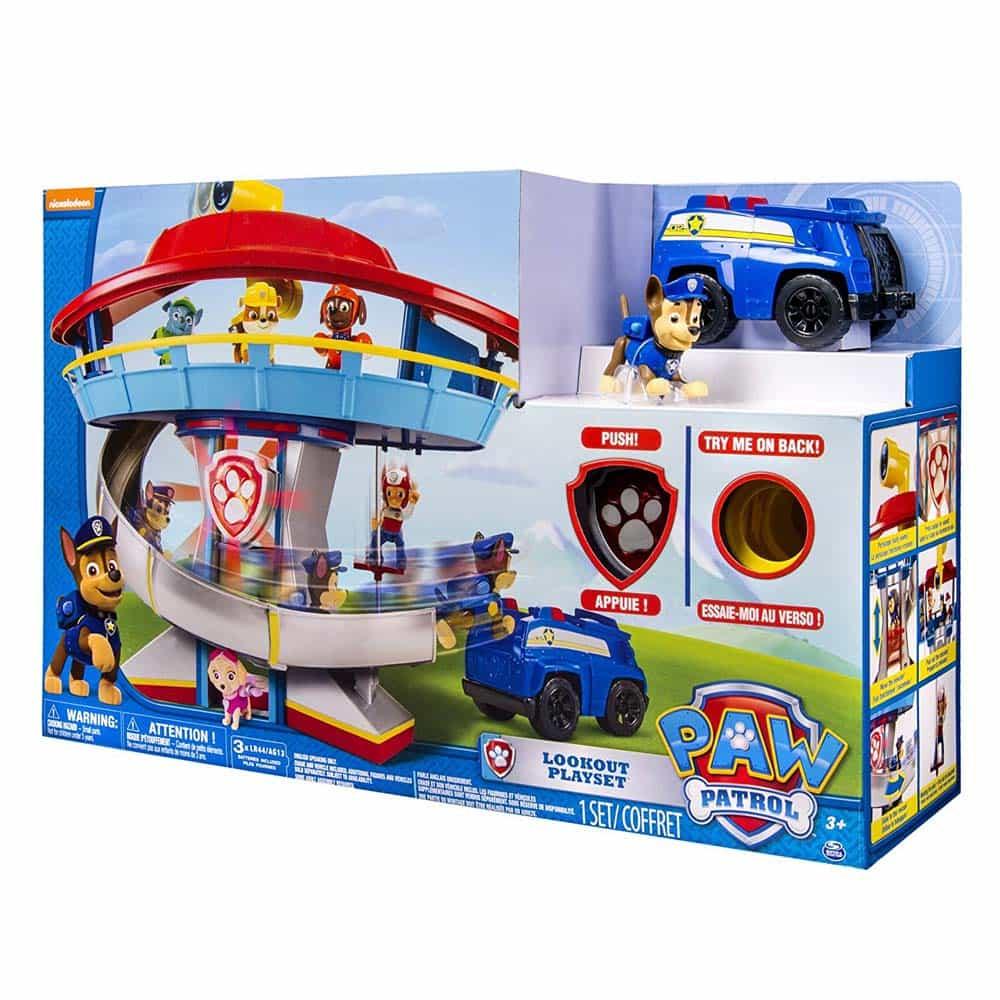 PAW Patrol Turnul de veghe cu figurină Patrula Cățelușilor 6022632