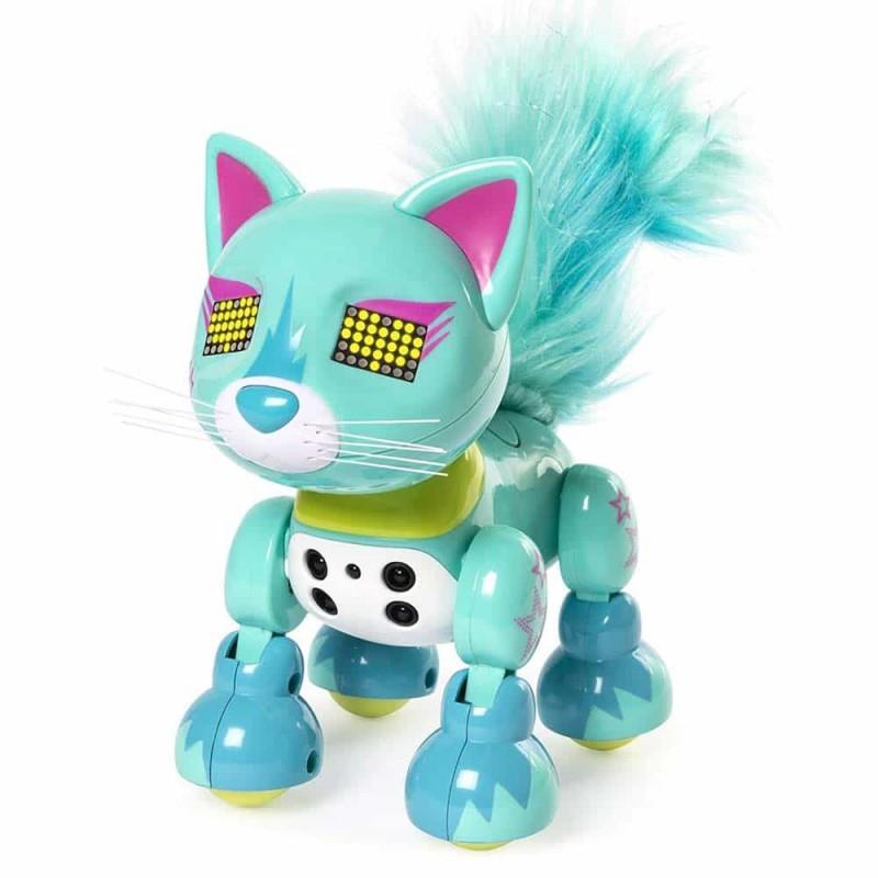 Spin Master pisică interactivă Zoomer Meowzies Lux sau Posh