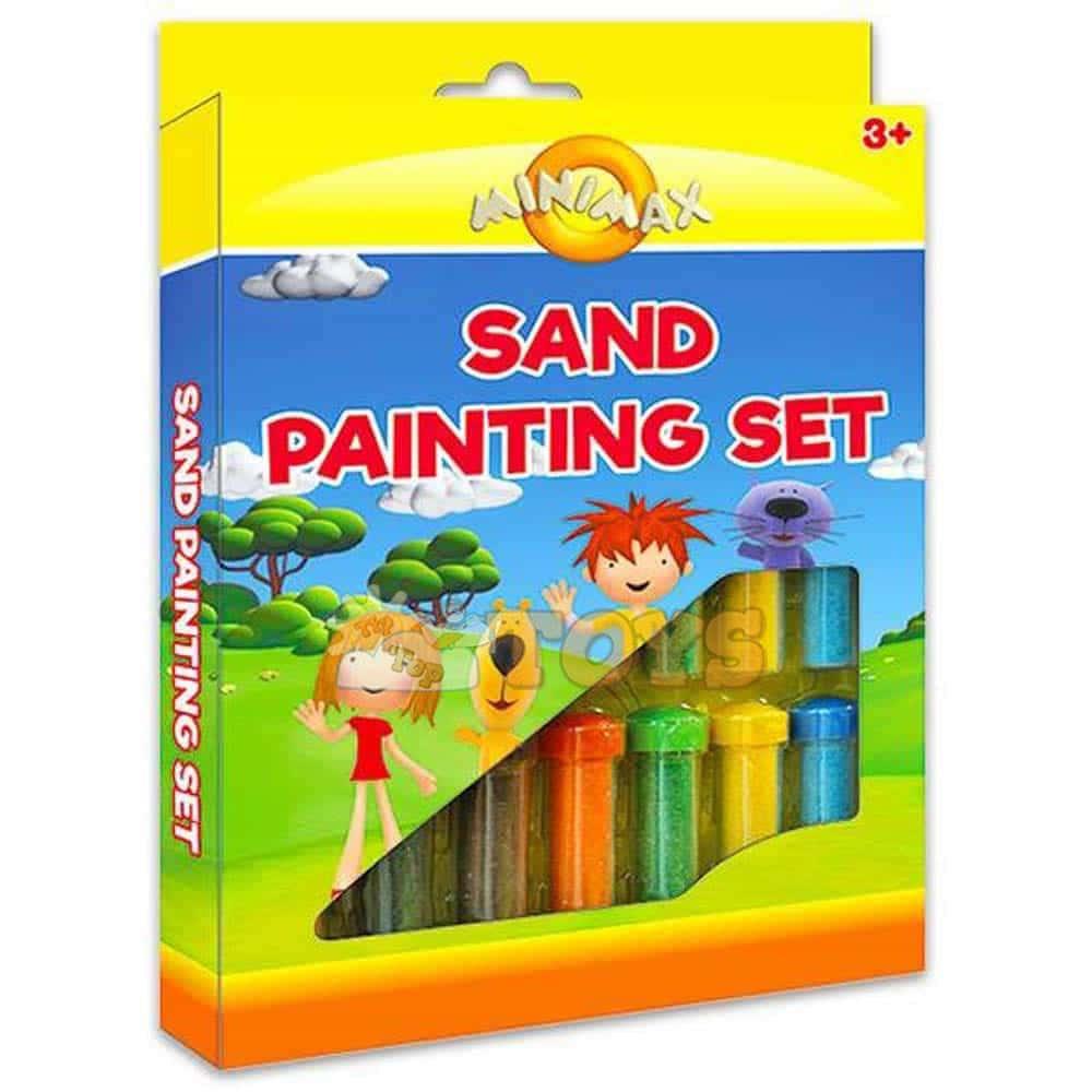 MINIMAX set de vopsit nisip 15 tuburi color MMX69313 set pictură nisip