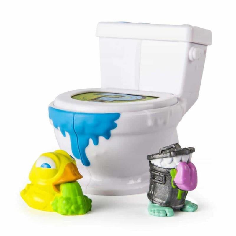 Flush Force Set 2 figurine Spin Master 6037312 set toaletă cu 2 figurine