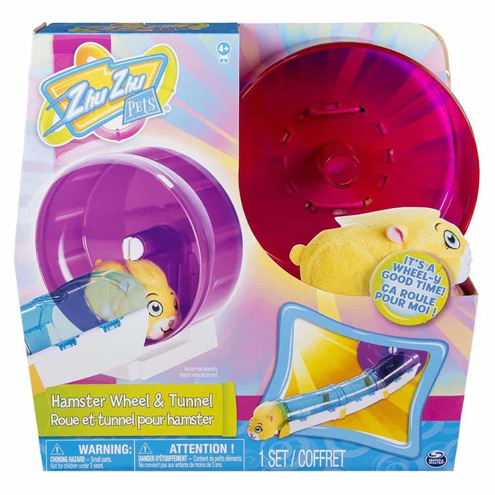 Zhu Zhu Pets set de joacă Roată pentru hamsteri și tunel 6040191