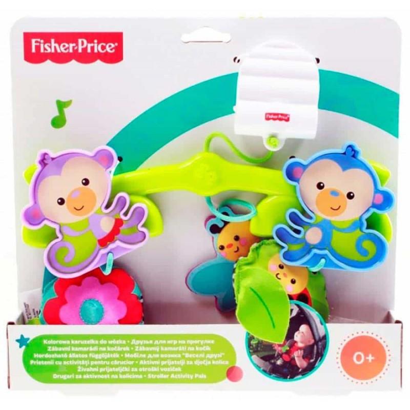 Fisher-Price Jucărie de agățat pentru cărucior BHW59 carusel pătuț