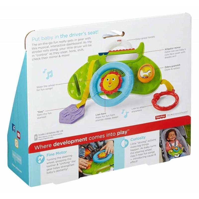 Fisher-Price Jucărie interactivă pentru cărucior DYW53 Rollin and Strollin