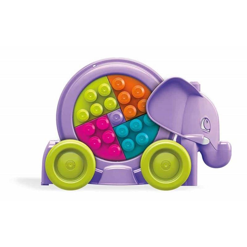 Mega Bloks Jucărie interactivă pentru fete Elefant FFY14 Fisher-Price
