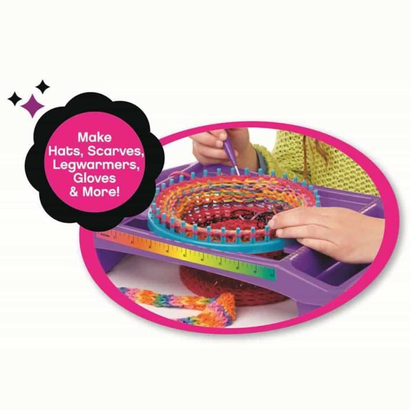 Cra-Z-Knitz Studio de croșetat Ultimate Design Knitting Station 17118