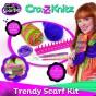 Cra-Z-Knitz Set de croșetat Fular Trendy Scarf Kit 17121 eșarfă