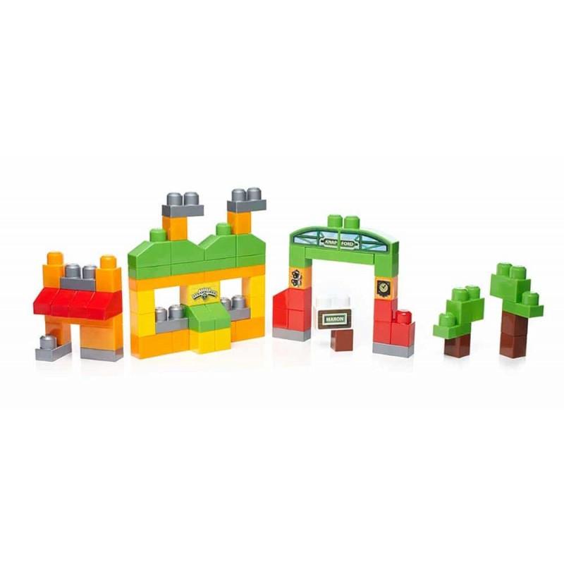 Mega Bloks Set construcție Thomas Aventuri pe insula Sodor DXH56