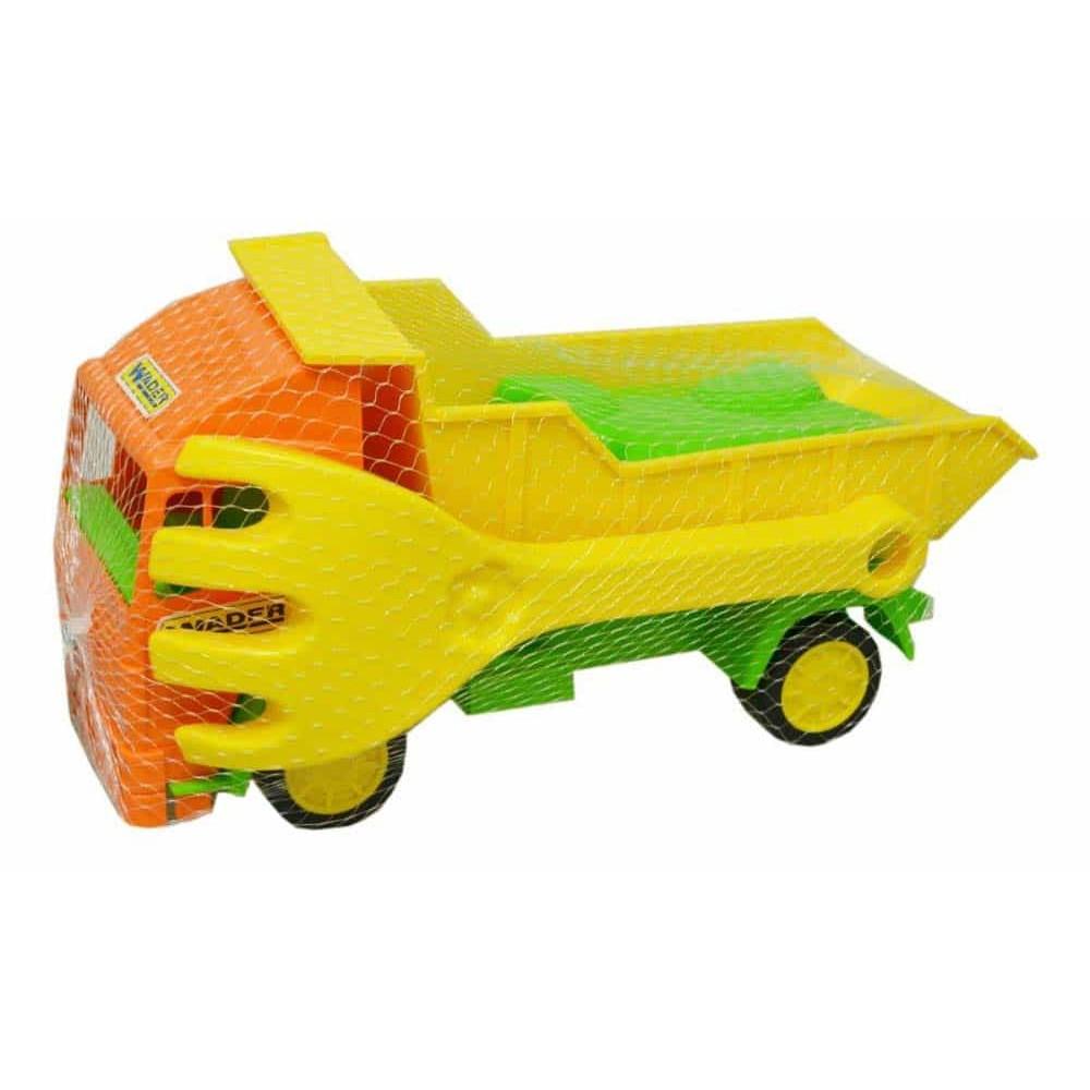 Wader Basculantă cu set nisip 28 cm 70351 set jucării de nisip mașinuță