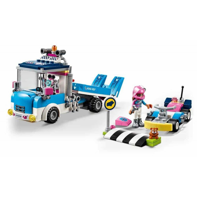 LEGO® Friends Camion de service și întreținere 41348 Service Care