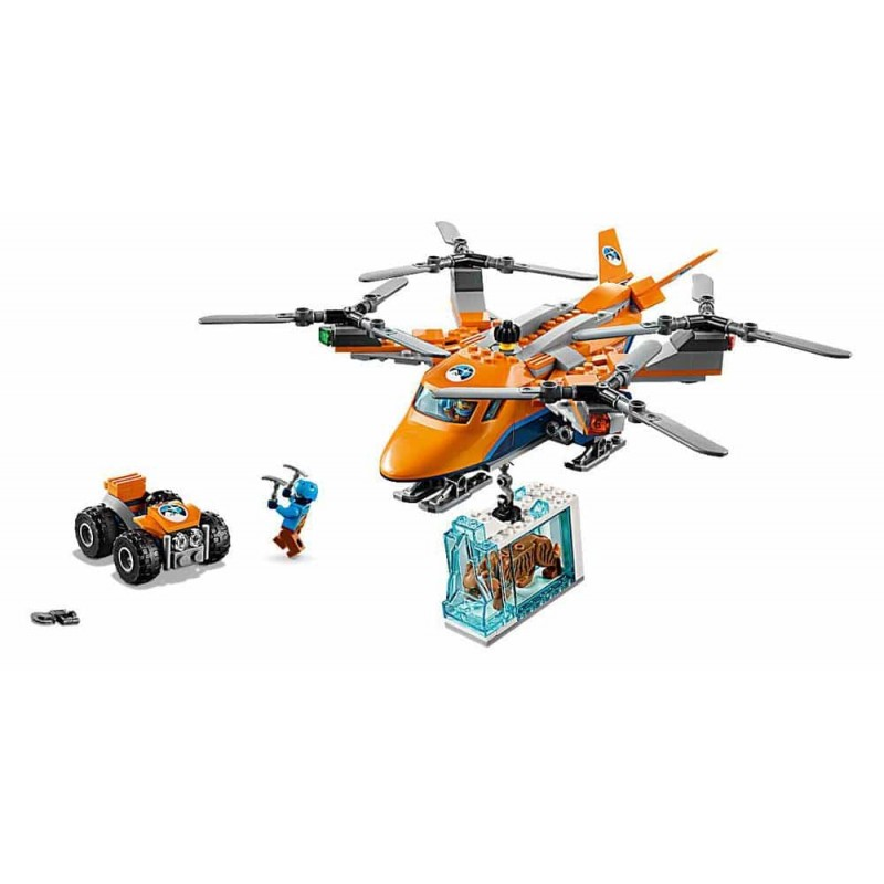 LEGO® City Transportul aerian arctic 60193 Arctic expedition Helicopter