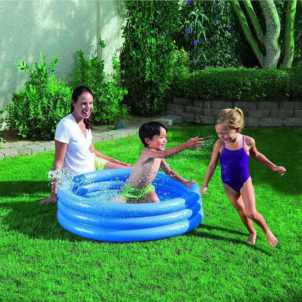 Bestway Bazin rotund gonflabil 3 inele 122x25cm 51025 pentru copii