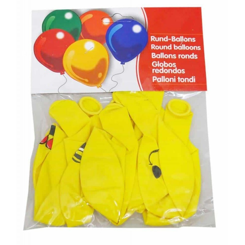 Set baloane inscripționate cu Emoji smiley pentru aniversări 10buc 30cm