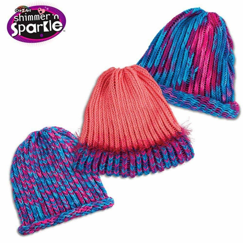 Cra-Z-Knitz Set de croșetat căciulă Fashion Hat Kit 17119 Ultimate Desig
