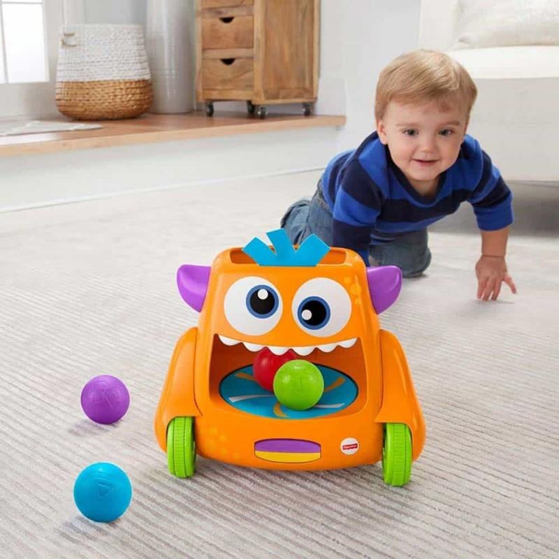 Fisher-Price Monstru haios cu mingi colorate FHD56 Zoom-N-Crawl