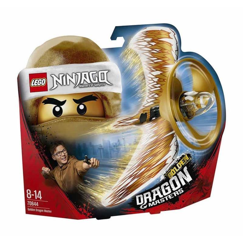 LEGO® Ninjago Dragonjitzu Auriu 70644 Dragonul Golden 92 piese