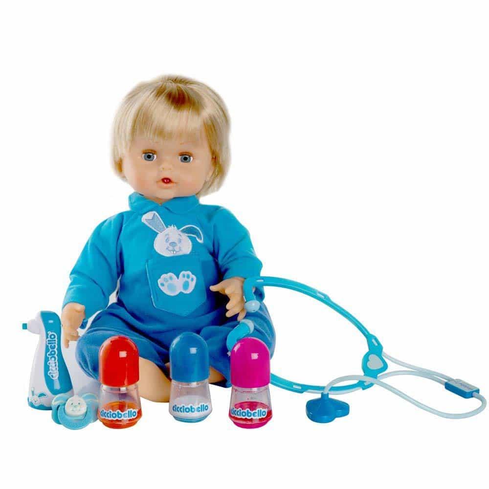 Cicciobello Păpușă bolnăvioară Boa Bua interactivă 70056391 45cm