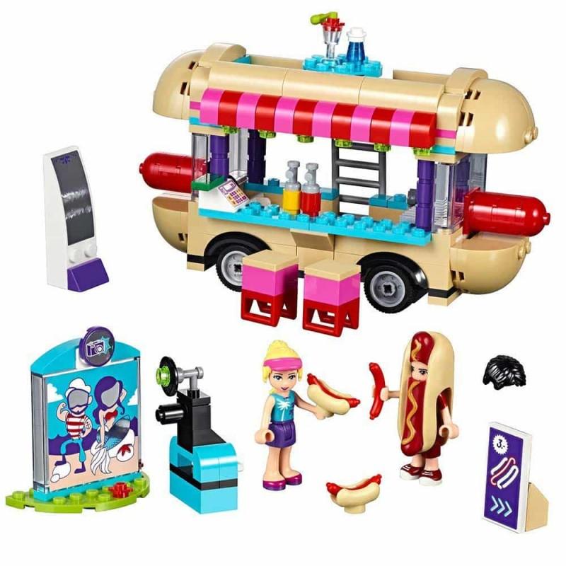 LEGO® Friends Furgoneta de hot dog din parcul de distracții 41129