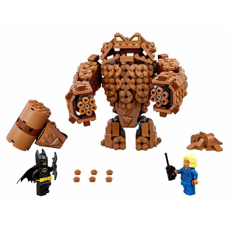 LEGO® Batman Atacul răsunător al lui Clayface 70904 448buc
