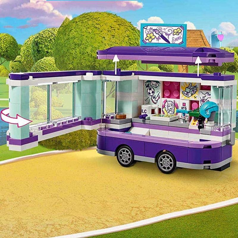 LEGO® Friends Standul de artă al Emmei 41332 Emma's Art Stand