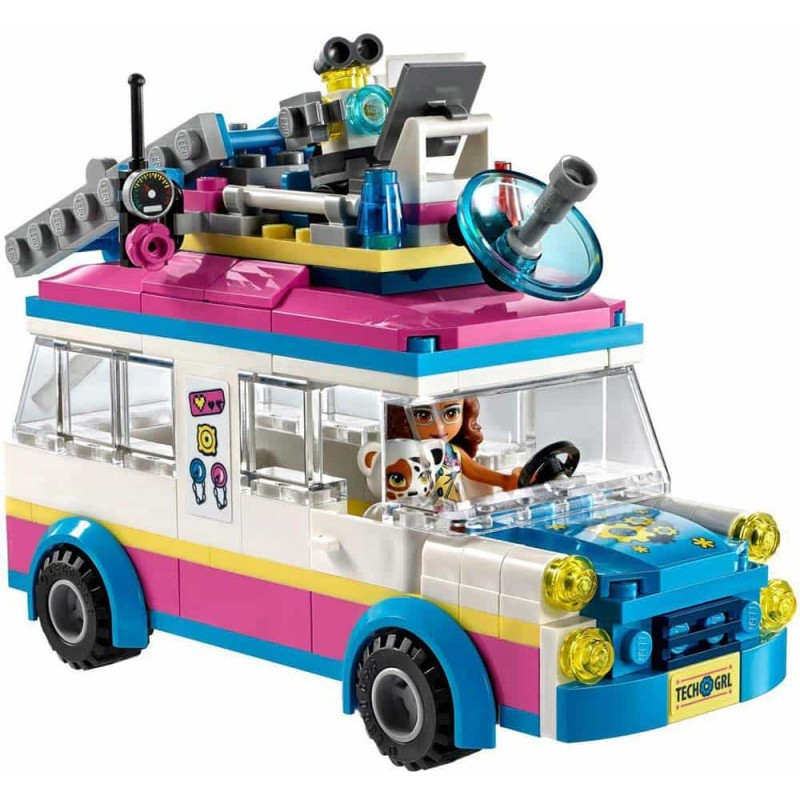 LEGO® Friends Vehiculul de misiune al Oliviei 41333 Olivia's Mission Vehicle