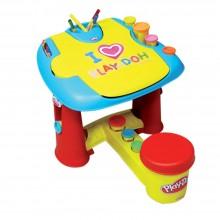 Play-Doh Primul meu birou cu accesorii CPDO001 măsuță de joacă