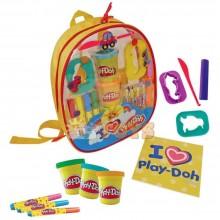 Play-Doh Set creativ în rucsac CPDO012 cu diverse accesorii Hasbro