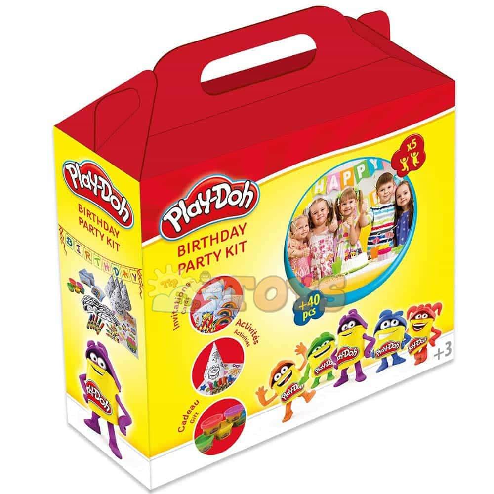 Play-Doh Set de petrecere CPDO093 Set cu accesorii La mulți ani