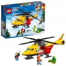 LEGO® City Elicopterul ambulanță 60179 190buc Ambulance Helicopter