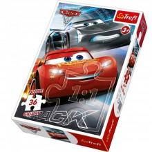 Puzzle Gigant Disney Cars 3 cu 36 piese Trefl