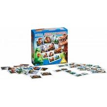 Piatnik joc de memorie și domino 736490 The Good Dinosaur Disney