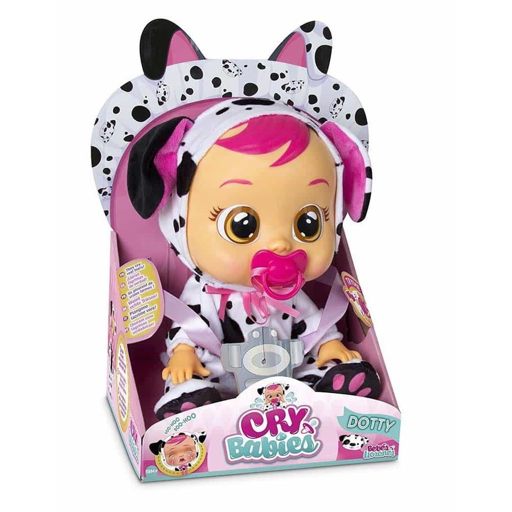 iMC Toys Cry Babies păpușă interactivă care plânge Dotty 96370