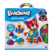 Set creație cu arici Bunchems Bunch'n Build Activity kit 400piese