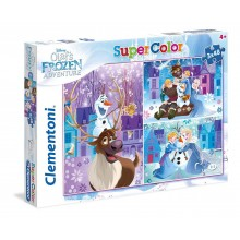 Clementoni Puzzle 3x48buc Disney Frozen Super Color Olaf's adventure