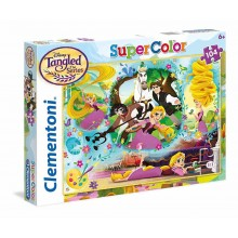 Clementoni Puzzle 104 piese Disney Tangled Super Color 27084