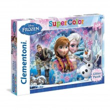 Clementoni Puzzle 104 piese Disney Frozen Super Color 27248.8