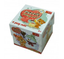 Trefl Set puzzle 4 anotimpuri 60 piese clasic pentru copii