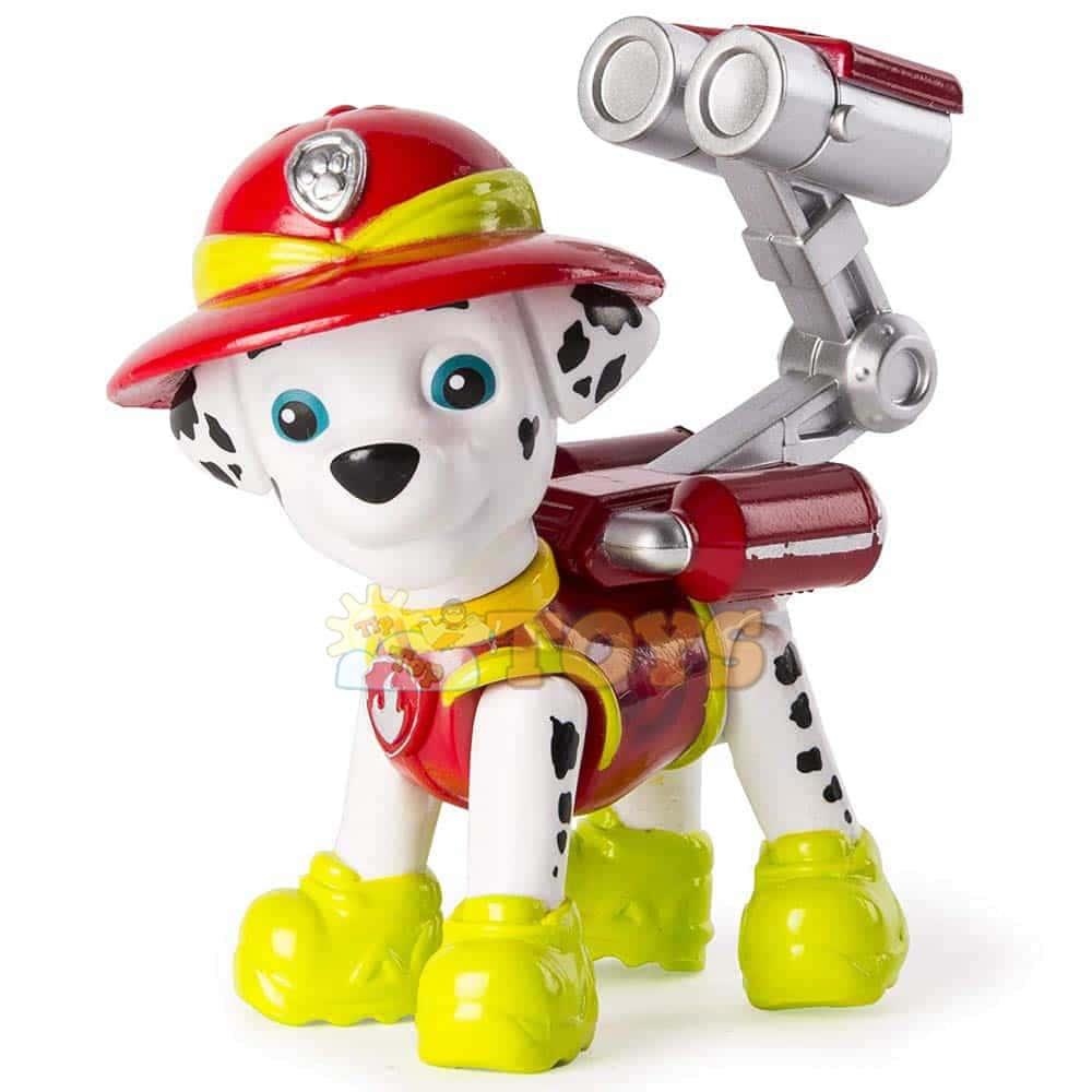 PAW Patrol Figurină articulată Marshall Rocky Rubble Patrula Cățelușilor