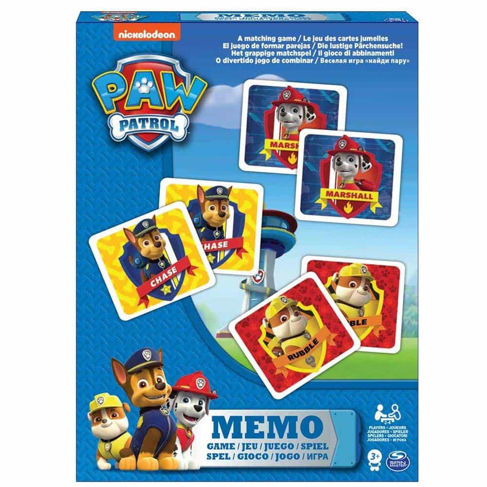 PAW Patrol Joc de memorie Patrula cățelușilor 6033326 Spin Master