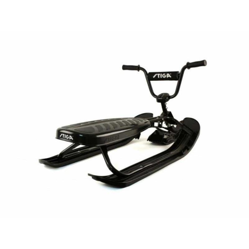 Sanie sportivă cu volan STIGA SnowRacer XS Pro negru